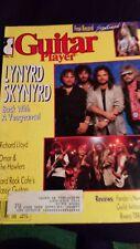 Guitar Player Magazine  JAnuary 1988 Lynird Skynyrd Cover