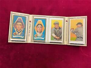 2021 Historic Autographs 2 x T206 + 2 x T205 DETROIT TIGERS 1909, 1911