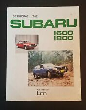 Servicing The Subaru 1600 & 1800 Motor Car