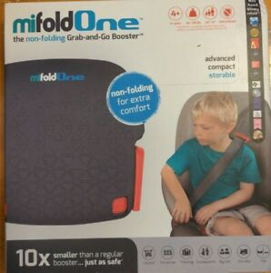 mifold One The Non-Folding Grab-and-Go Booster, Grey