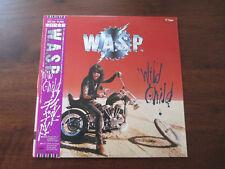 "W.A.S.P. WILD CHILD 12"" SINGLE - JAPAN PRESS - 45RPM WASP S14-135"