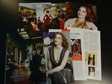 Jessica Chastain 10 full pages  Clippings  Vanity Fair september 2012