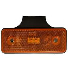 Phare Lumière Gabarit Latéral LED Orange Pour Camion 12V 24V