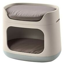 Keter Pet Bunkbed 3-in-1 Bed/Carrier/Crate for Cats and Blue