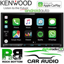 "Kenwood DMX 7017DABS 7"" Mechless Screen DAB CarPlay Android Auto Bluetooth Radio"