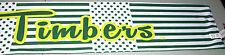 ADIDAS MLS PORTLAND TIMBERS White & Green Scarf NWT!