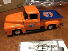 Ertl 1/25 Gulf 1956 Ford Pickup Bank EM3157