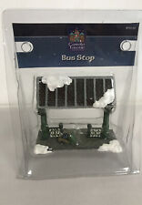 Lemax Carole Towne Accessories / Bus Stop / Item #70132 //NIB//