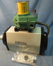 DEZURIK ACTUATOR and ASCO L-YCB3A2, 8317G35 VALVES - USED