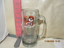 A&W ALL AMERICAN FOOD ROOT BEER MUG - 2013 GREAT ROOT BEAR LOGO - 7 INCHES TALL