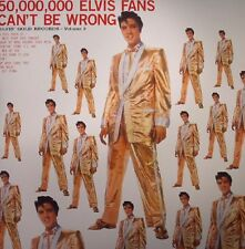 ELVIS PRESLEY 50000000 ELVIS FANS CANT BE WRONG LP VINYL NEW AND SEALED