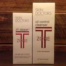 SKIN DOCTORS T-Zone No More Oil Face Cleanser + Zit Zapper + FREE Domestic Post