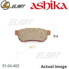 DISC BRAKE PADS SET  FOR HONDA ACCORD III AERODECK CA A20A2 A20A3 ASHIKA