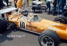 Dan Gurney McLaren M14A di British Grand Prix 1970 fotografia 1