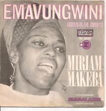"45 TOURS / 7"" SINGLE--MIRIAM MAKEBA--EMAVUNGWINI / IBABALAZIE"