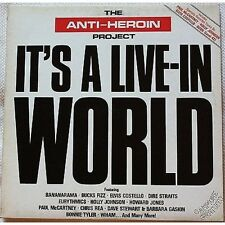 The anti-heroin project - 2 LP VINYL 1986 NM VG+ PAUL McCARTNEY WHAM COSTELLO