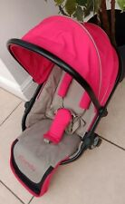 iCandy Peach Sherbet red lower seat unit. Excellent condition.
