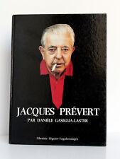Jacques Prévert, Danièle GASIGLIA-LASTER. Séguier-Vagabondages 1986 Filmographie