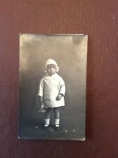 J1f Old Photograph Bw 1930s Girl In White Ticket