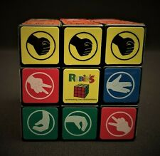 RARE Big Bang Theory RUBIK'S CUBE Rock Paper Scissors Lizard Spock Game Toy