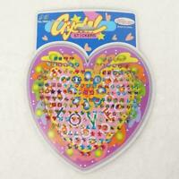 Kid Girl Crystal Stick Earring Jewelry Sticker Toy Body Bag Party Sale Gift New