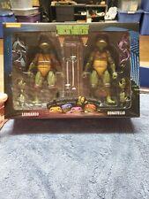 Neca Nickelodeon Teenage Mutant Ninja Turtles Doubles Leonardo & Donatello