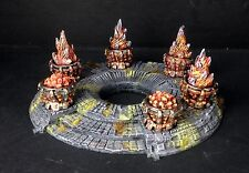 Shrine with Braziers, for games like Warhammer and Frostgrave
