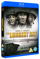 THE LONGEST DAY - BLU-RAY - REGION B UK