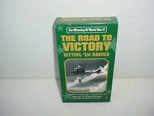 Winning of World War II The Road To Victory Hitting Harder VHS Video Tape Movie