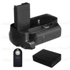 Battery Grip for Canon EOS Rebel T3 T5 + LP-E10 Li-Ion battery + Remote