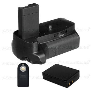 Battery Grip for Canon EOS Rebel T3 T5 + LP-E10 Li-Ion Battery + Remote