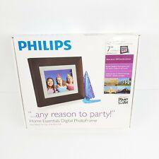 "Philips SPF3407D/G7 PhotoFrame 7"" LCD 4:3 Digital Frame Picture Digital Photo"