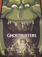 Ghostbusters - 2014 Gary Pullin poster print 30th Comic Con SDCC ghoulish S/N'd