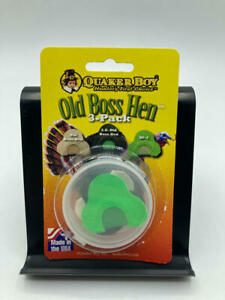 Quaker Boy - Old Boss Hen Multi-Pack Turkey Mouth Calls