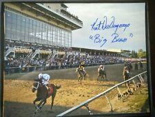 Big Brown photograph KentDesormeaux autograph 11x14 Preakness