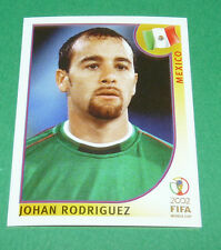 N°502 JOHAN RODRIGUEZ MEXICO PANINI FOOTBALL JAPAN KOREA 2002 COUPE MONDE FIFA