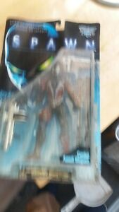 """7""""  ACTION FIGURE   """"the movie  SPAWN """" with combat assault weapons"""