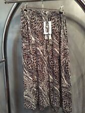 FABULOUS CAPTURE ANIMAL PRINT SKIRT SIZE 12 NEW  RRP $59