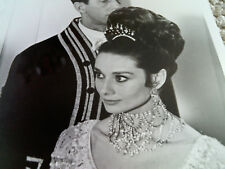 AUDREY HEPBURN RARE My Fair Lady Ball Gown Close Up Vintage Still PHOTO b/w 8x10