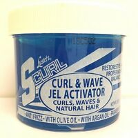 Lusters Scurl Curl and Wave Jel Activator - 10 Oz Blue