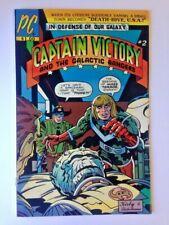 Jack Kirby Captain Victory & the Galactic Rangers #2 January 1982 Pacific Comics