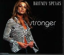Mcd Britney Spears Stronger/Walk on By (Chart Hit) 90`s Jive