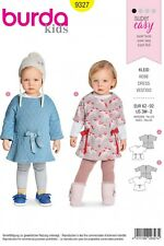 Burda Kids Super Easy SEWING PATTERN 9377 Baby Girls Dress 3m-2y