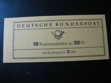 GERMANY Mi. #MH 9 mint MNH stamp booklet! CV $42.00