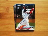 2018 Topps Chrome Atlanta Braves TEAM SET Ronald Acuna Jr. ROOKIE