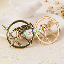 2PCS Retro Womens Girls Cosplay Mocking Jay Mocking Bird Pin Brooch Jewellery