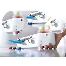 Portable Cordless Hand Held Sewing Machine Stitch Home Mini Clothes Free Post