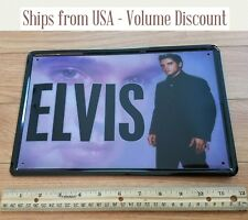 Retro Elvis Presley Sign Elvis Sign Elvis Metal Sign Elvis Collectible Fan Gift