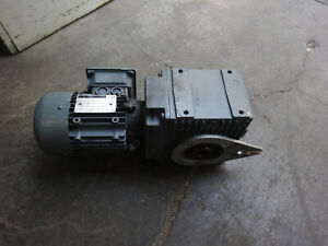 Carl rehfuss gearmotor 0,18KW/5.34r/min