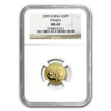 2009 1/10 oz Gold Chinese Panda Coin - MS-69 NGC - SKU #57781